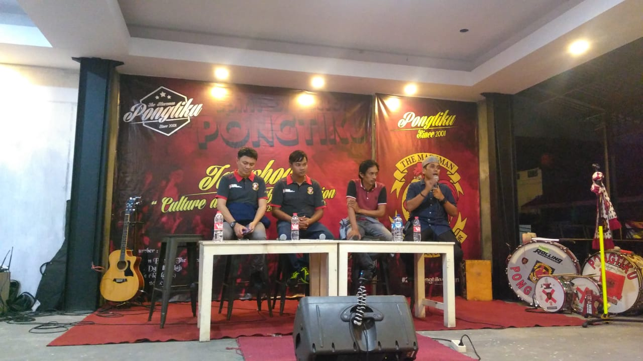 "Talkshow ""Culture and Football"" Sepakat Suporter PSM Satu Suara"