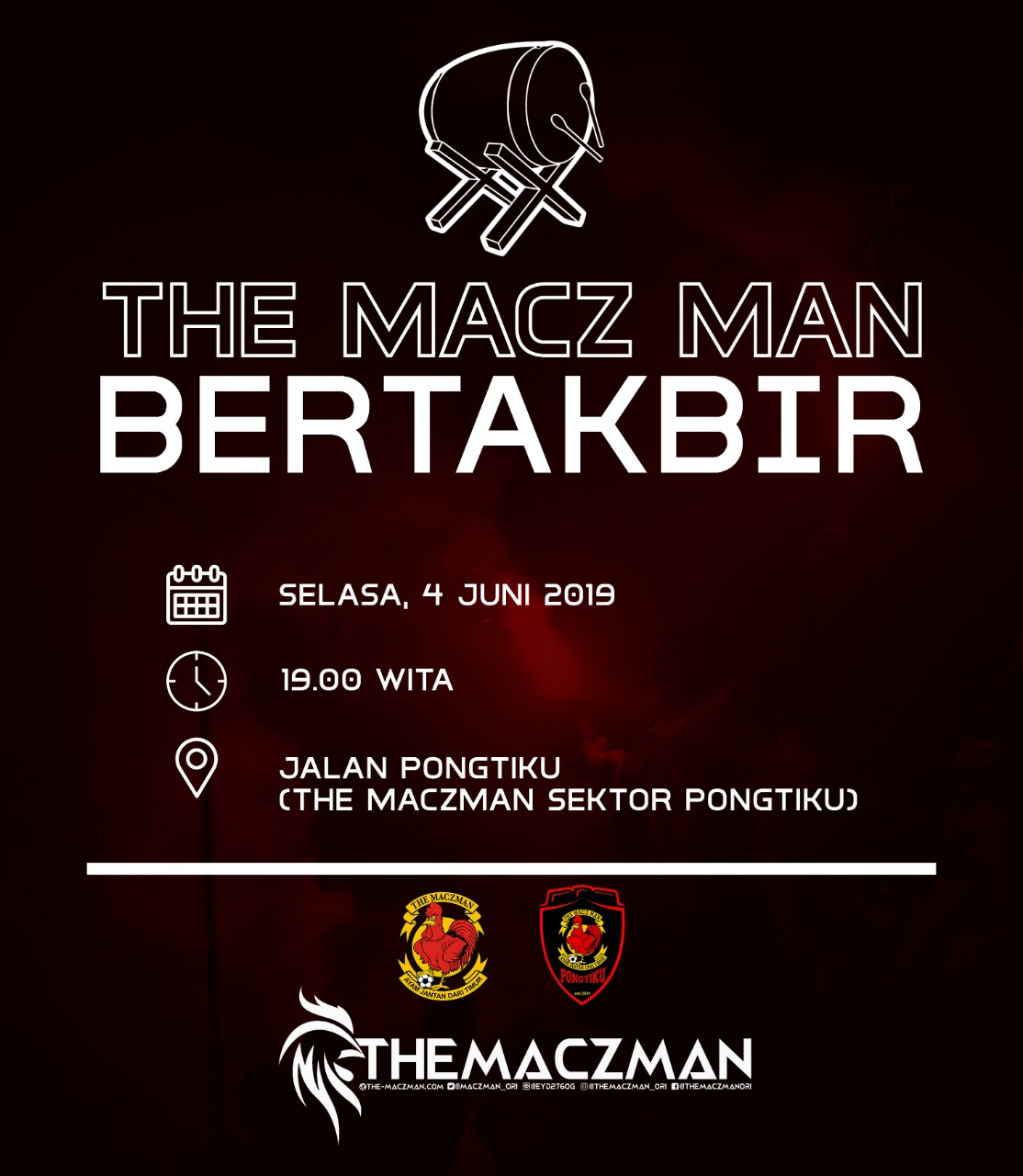 The Macz Man Silaturahmi di Malam Takbiran