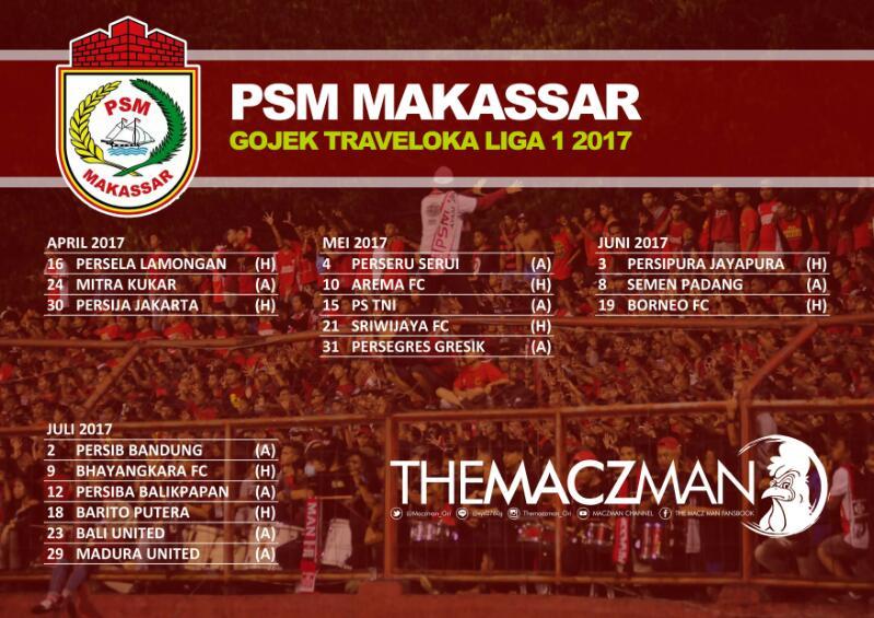 Image Result For Psm Makassar Jadwal Berita Psm Makassar Terbaru